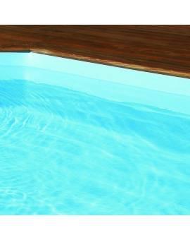 Folie blau für Holzpool Holzpoolfolie Poolfolie blau Procopi BWT MyPool