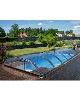 Alukov Azure Flat AZF-T1 Pooldach Überdachung