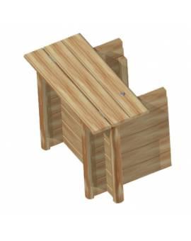 Technikraum Anbau für Urban Holzpool