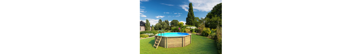 Holzpools Achteck Procopi Proswell
